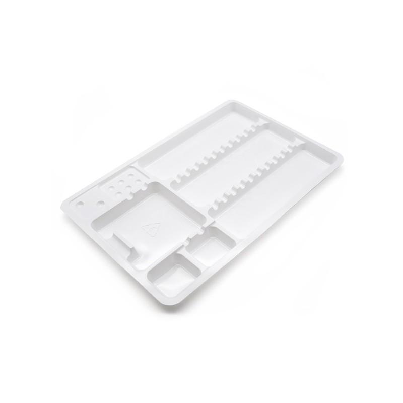 Vassoio Monouso In Plastica 18x28cm 10pcs