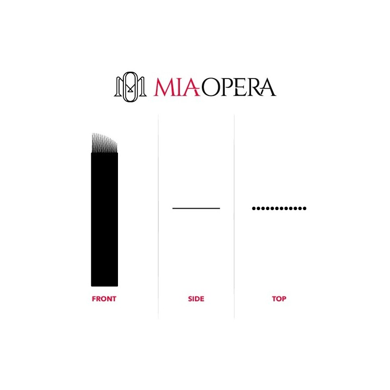Miaopera Disposable Microblading Blades 10pcs C14