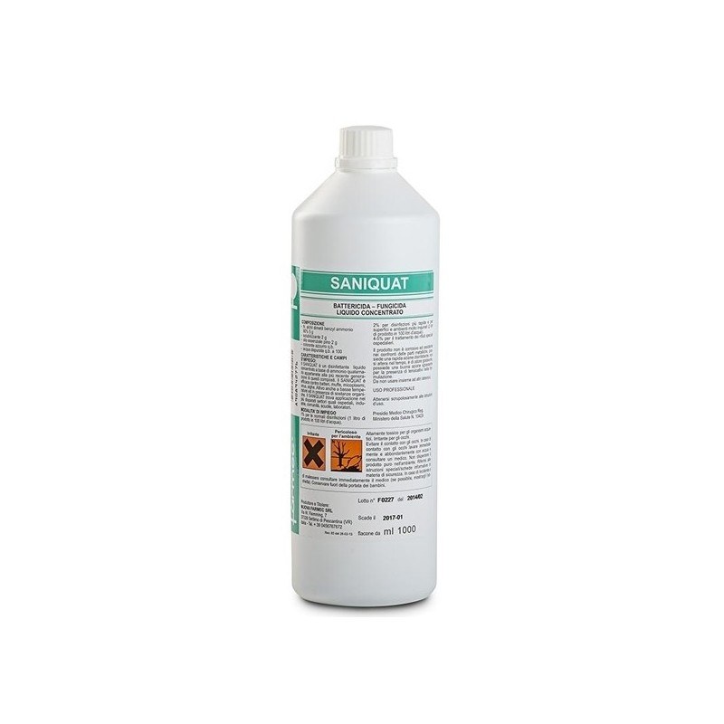 Saniquat Disinfettante Battericida E Virucida 1000ml