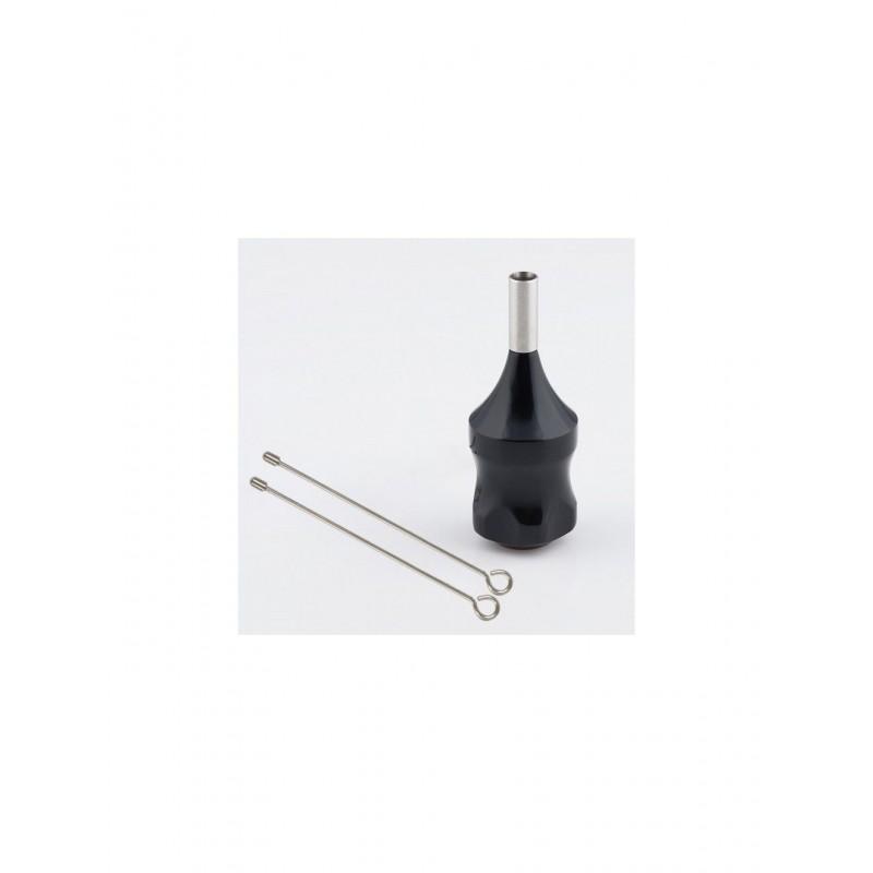 Ez Backstem Cartridge Grip Alluminio Fisso - Black 30mm