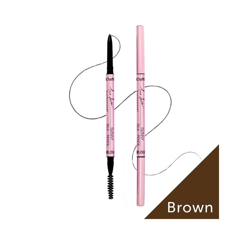 Tina Davies Skinny Pencil 3pcs - Brown