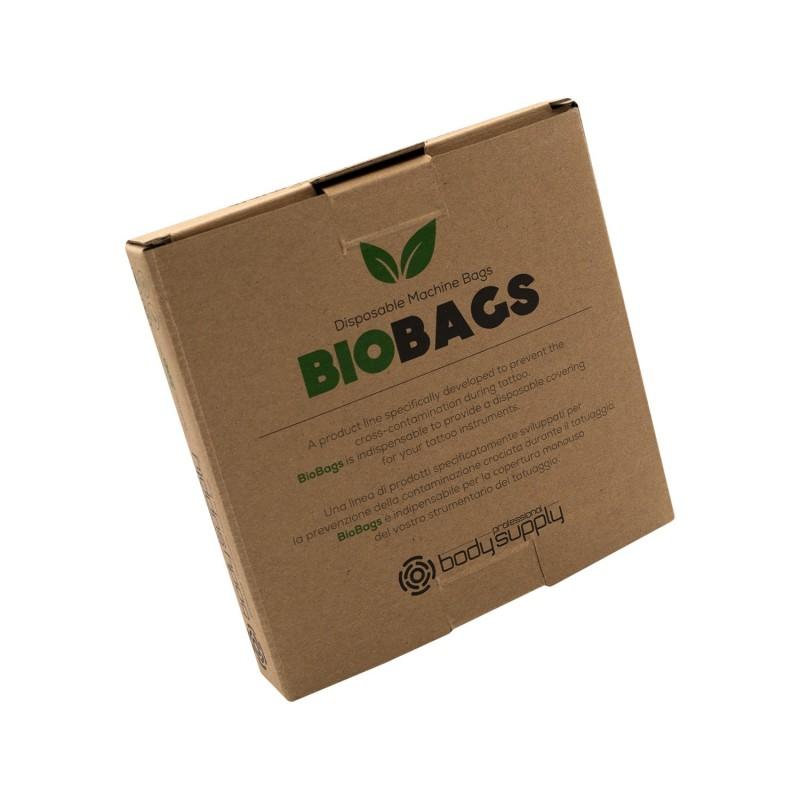 Bodysupply Biodegradable Machine Bags 200pcs - 13x13cm