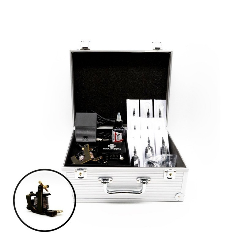 Medium Tattoo Kit - Coil Machine V-style