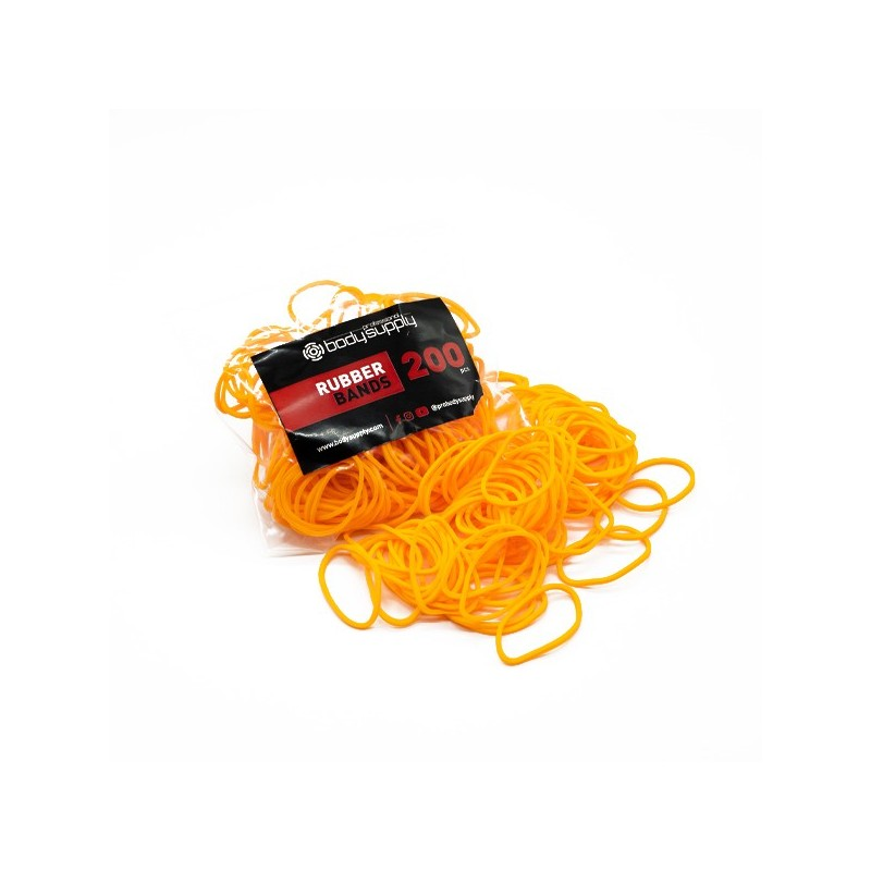 Bodysupply Elastici Colorati 200pcs - Arancio