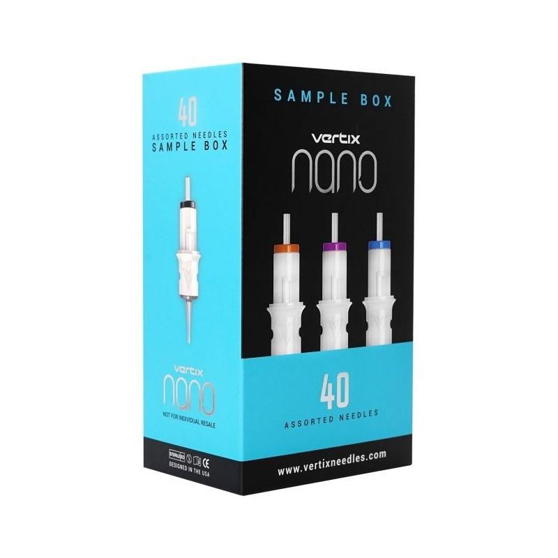 Vertix Nano Cartridges 40pcs Assorted Box