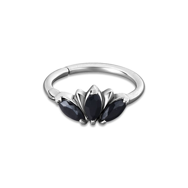 Hinged Ring W/zirconia Mod.13