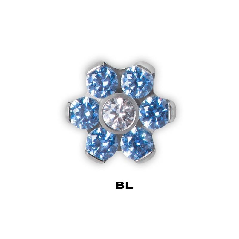 Tt Jewelled Flower Disc