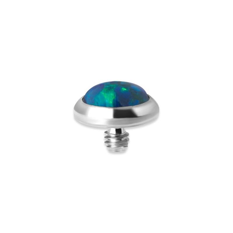 Titanium Opal Disc For Micro Barbells