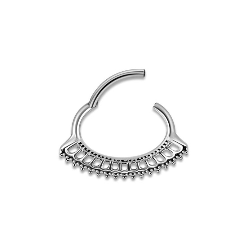 Hinged Septum & Daith Clickers Mod.10