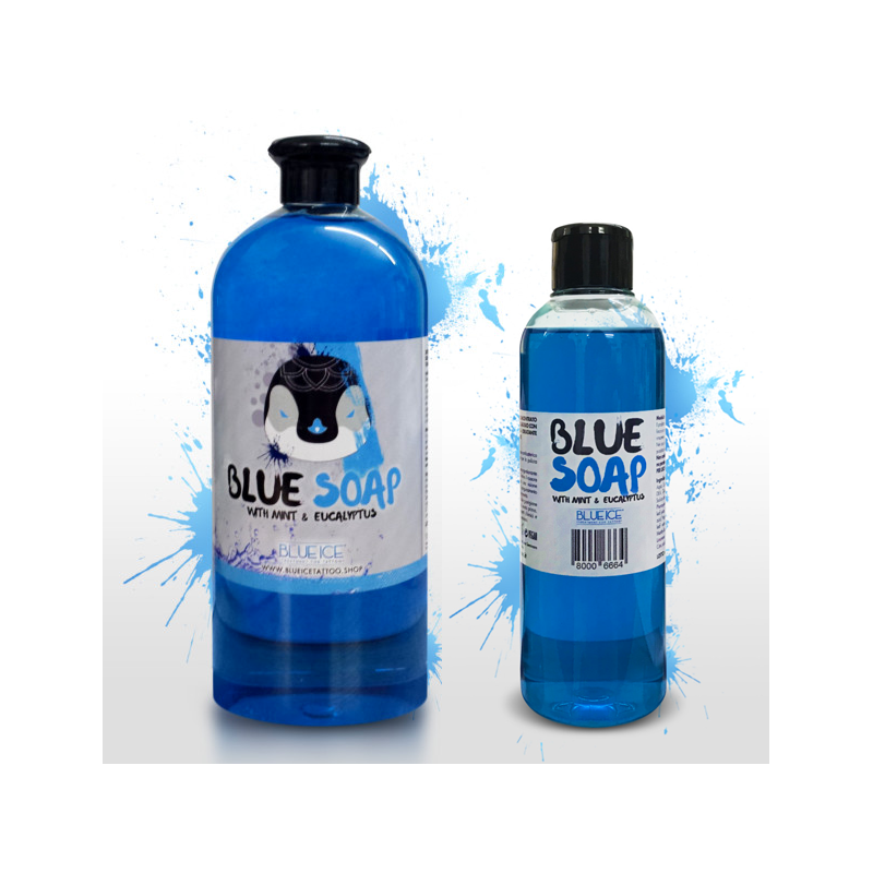 Blueice Blue Soap