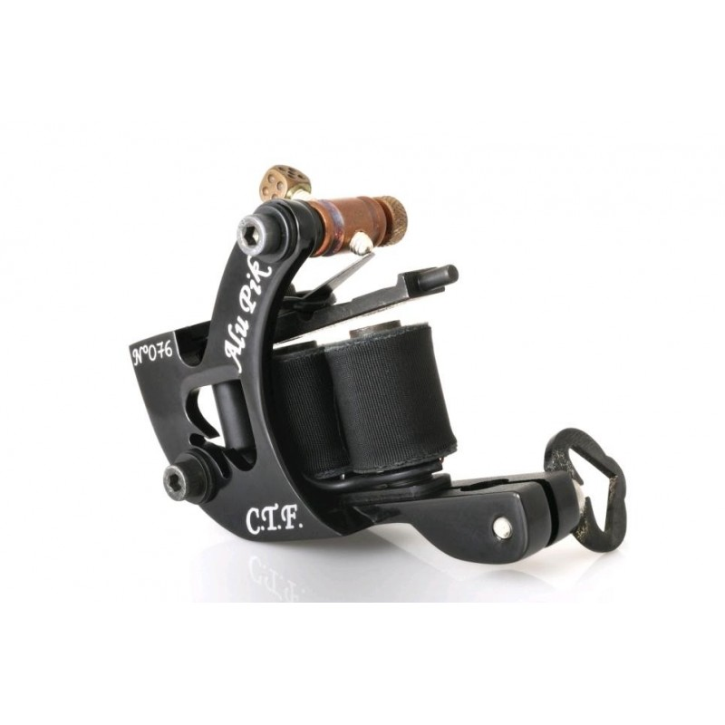 Aluminium Black Pik Liner Tattoo Machine
