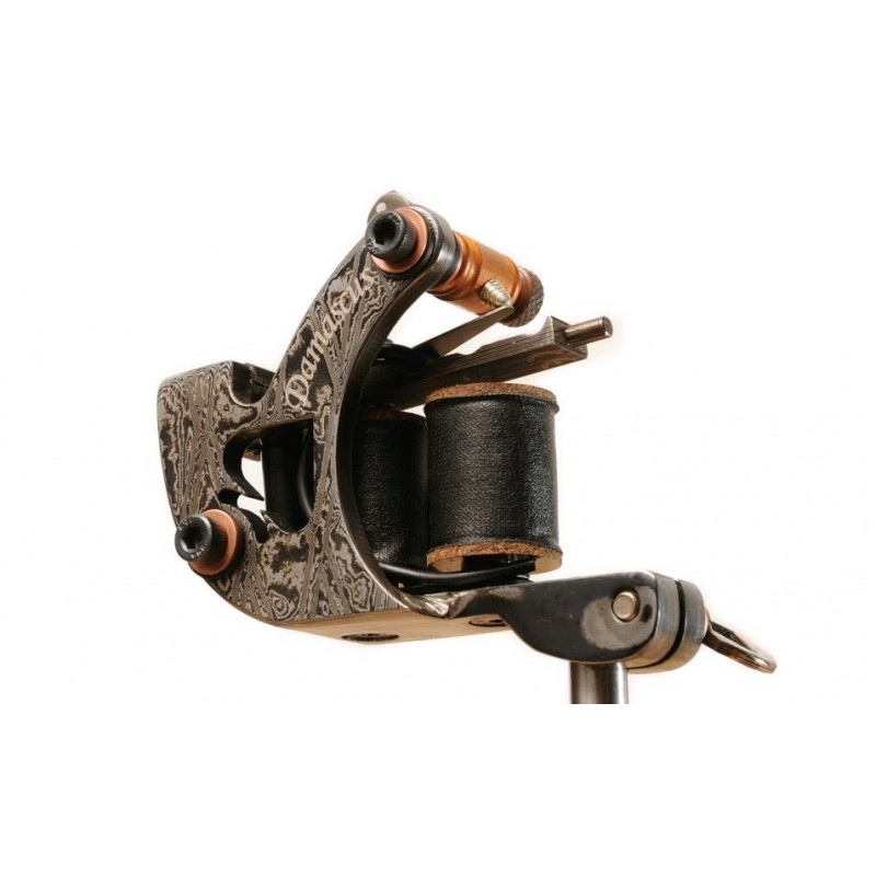 Damascus Pik Ass Liner Tattoo Machine