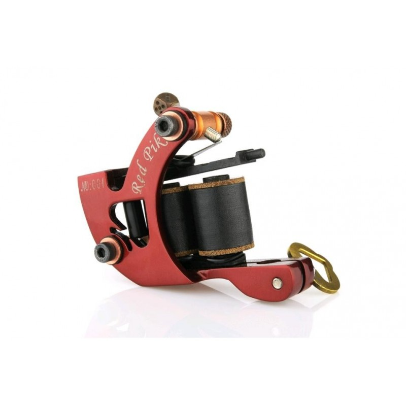 Red Pik Liner Tattoo Machine