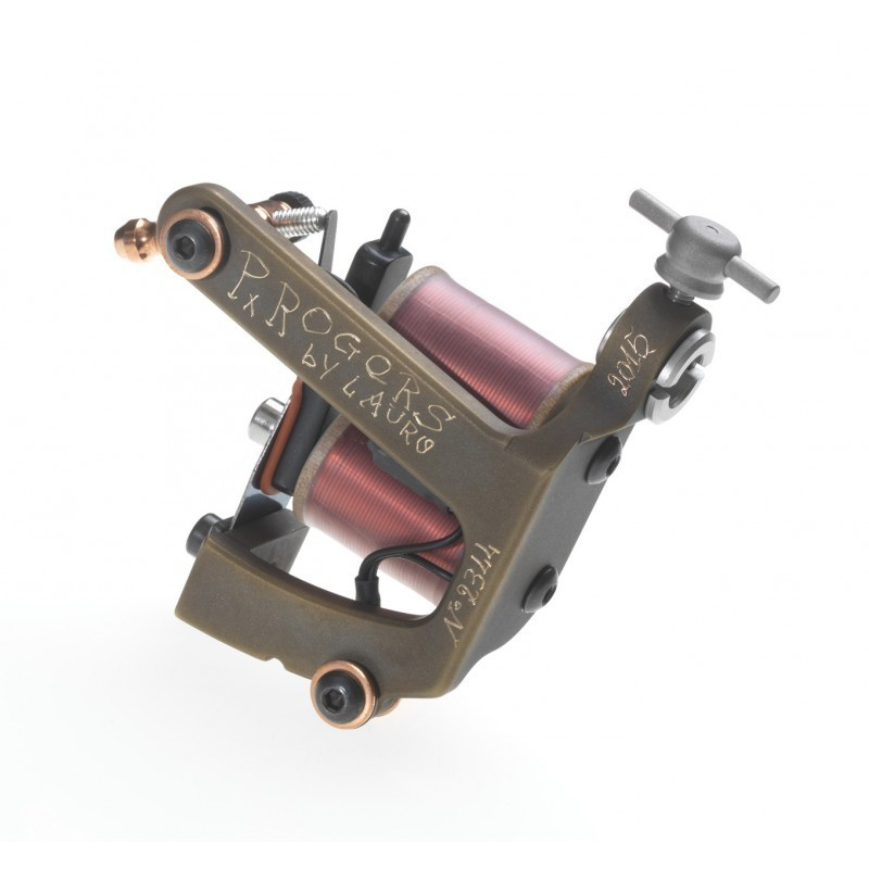 Paul Rogers Brass Tattoo Machine