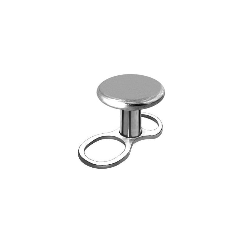Titanium Mini Dermal Anchor W/disc 3mm