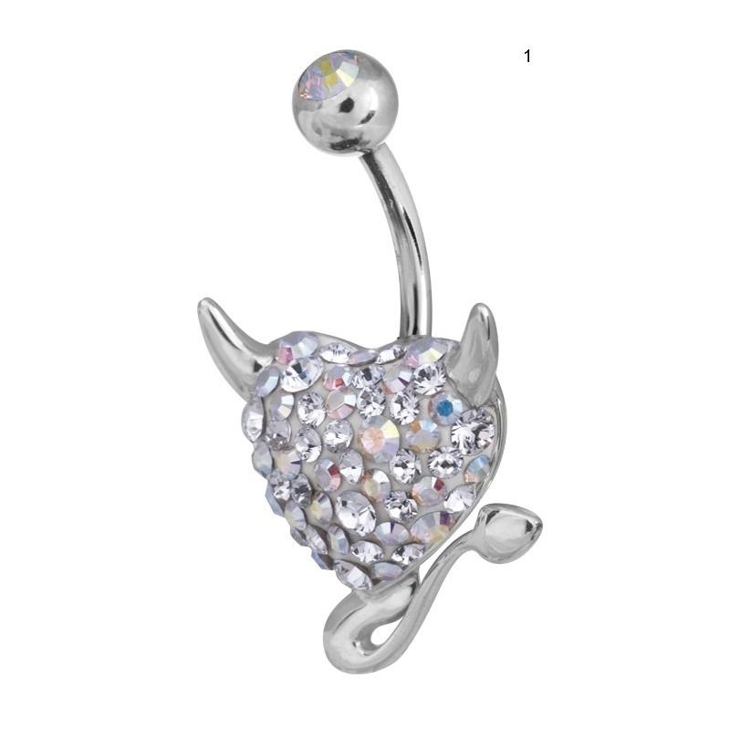 Ce Titanium Crystal Devil Heart