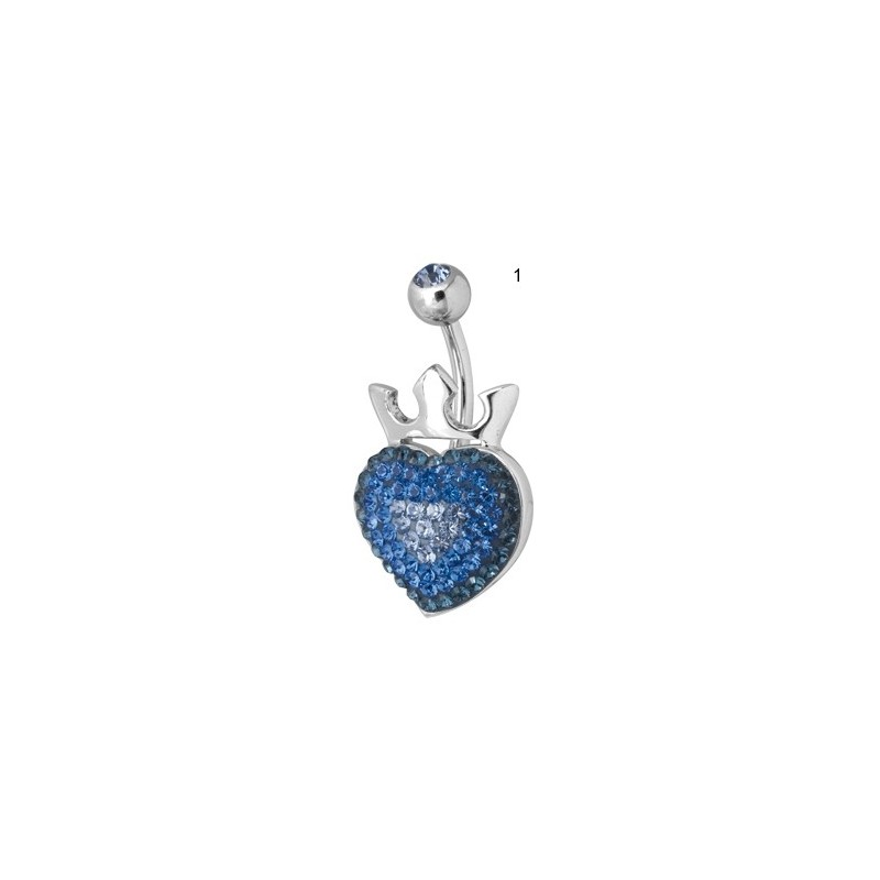 Ce Titanium Crystal Royal Heart