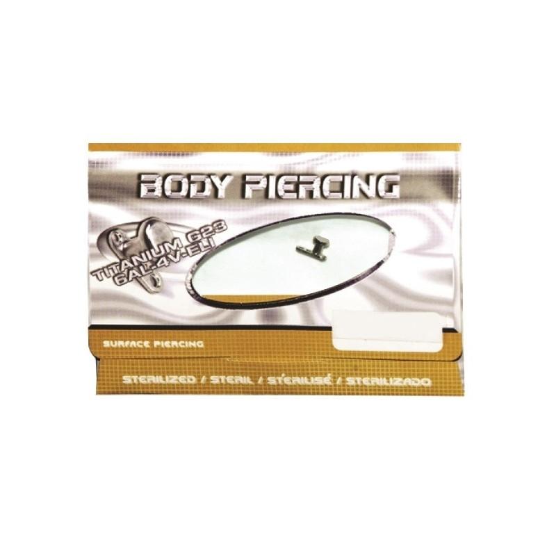 Sterilized Jewelry Dermal Anchor