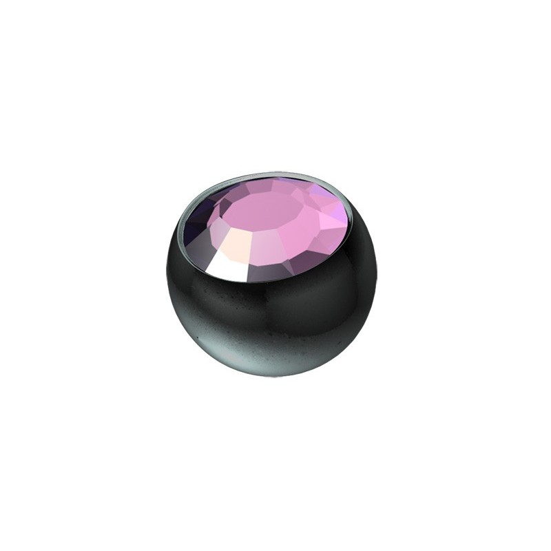Bk Tt Jewel Screw-on Balls