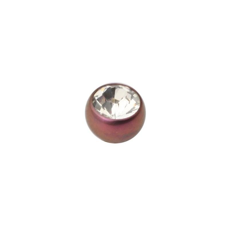 Tt-pu Screw-on Jewelled Balls