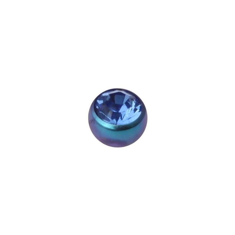 Tt-te Screw-on Jewelled Balls