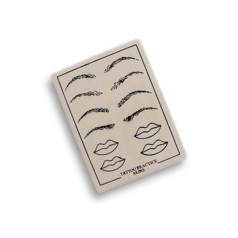 Practice Skin Mod. Eyebrow/lips 1