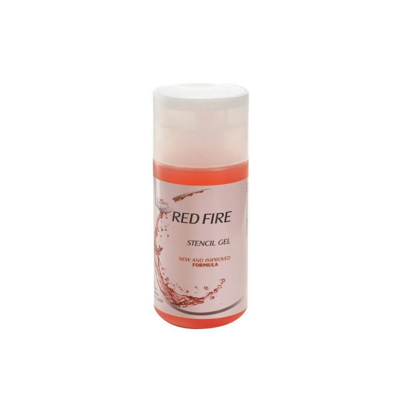 Red Fire Stencil 125ml