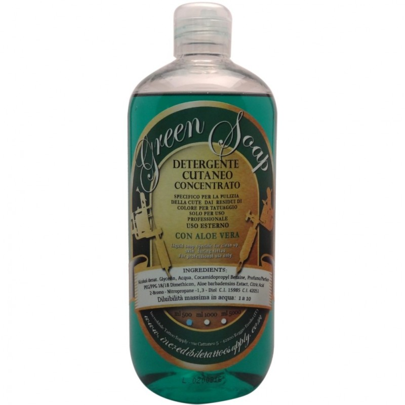 Green Soap Concentrato Lauro Paolini 500ml