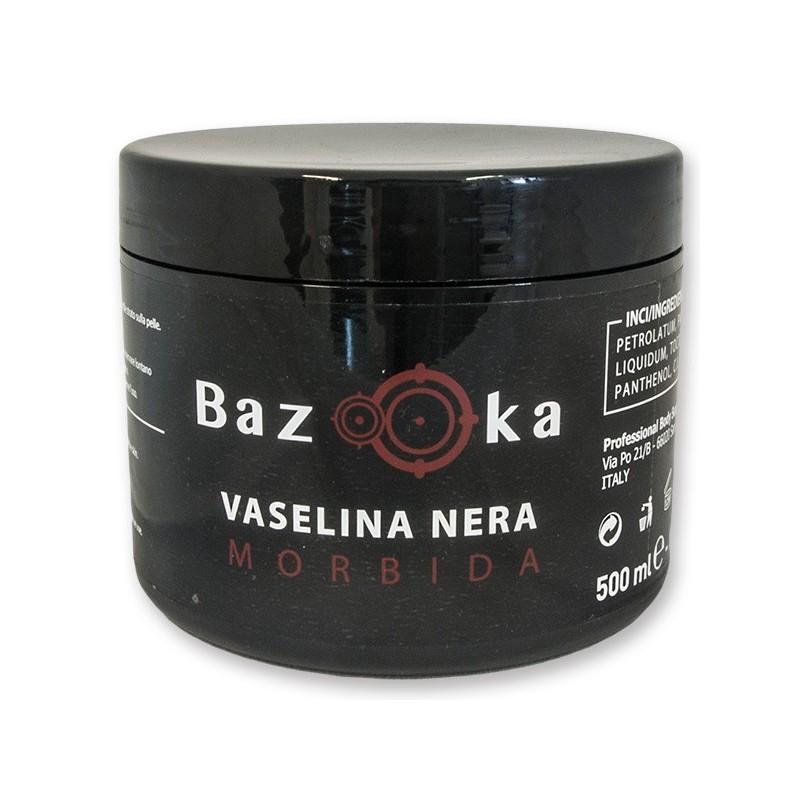 Vaselina Nera Arricchita Bazooka 500ml - Morbida