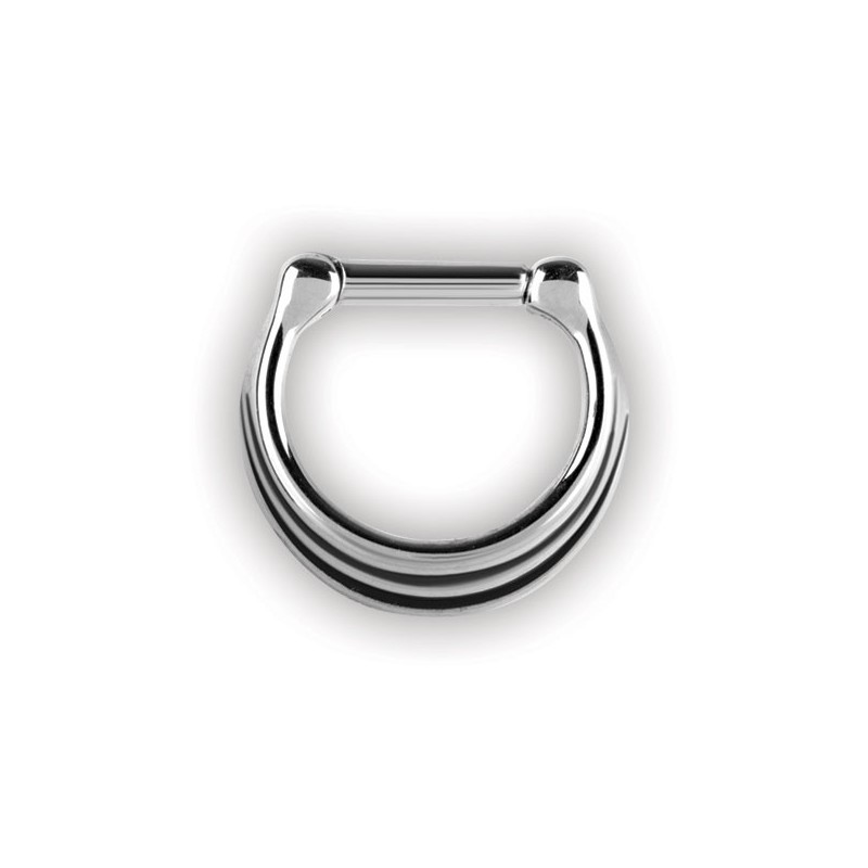 Septum Clickers 3 Rings 1,6x8mm