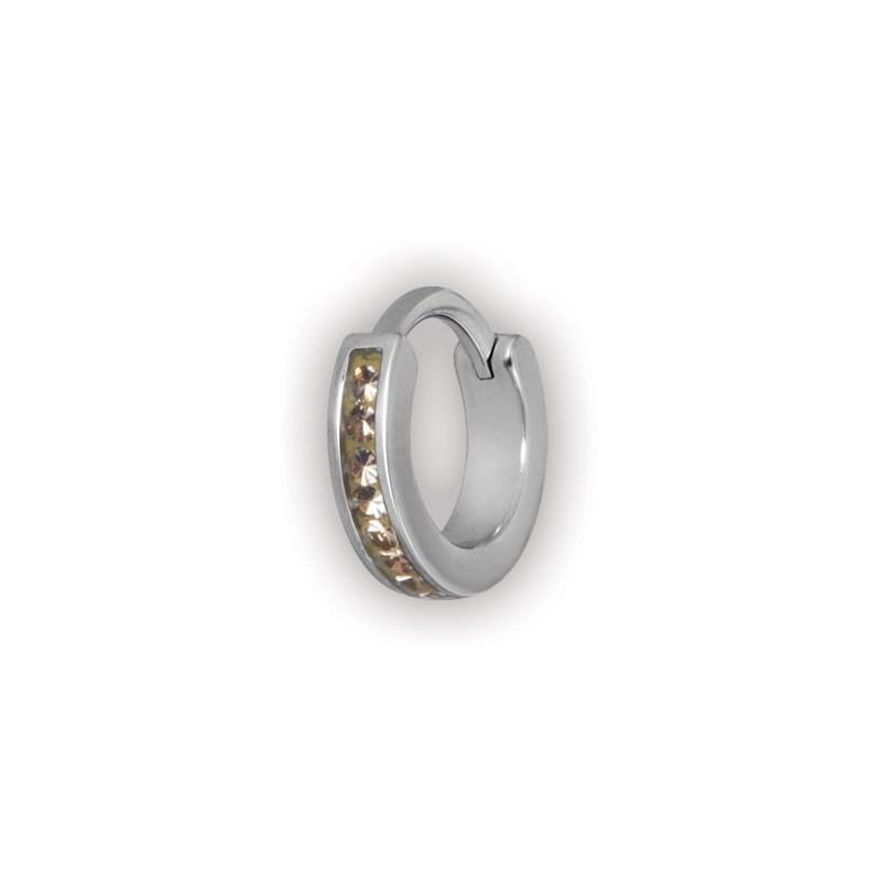 Jewelled Hinged Crystal Rings