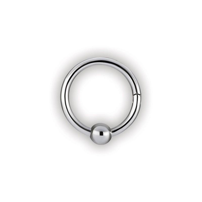 Hinged Ball Closure Ring