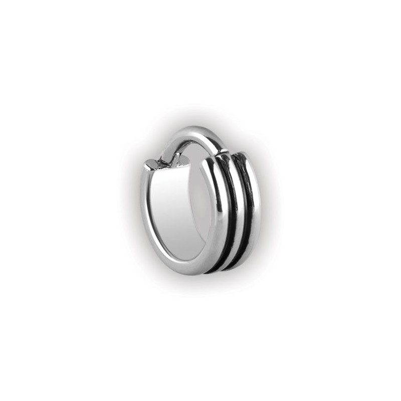 Steel Hinged Ring 3 Rings