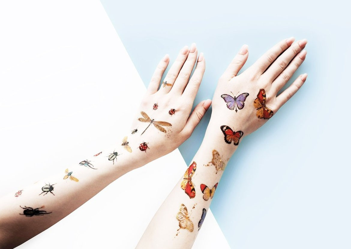 Temporary Tattoos, now for grown-ups, too