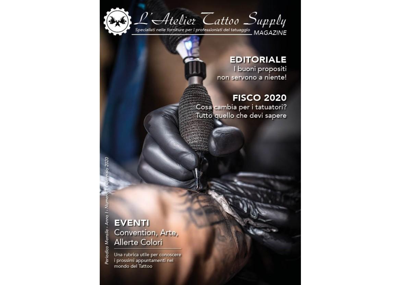 L'Atelier Tattoo Magazine N° 1 - Gennaio 2020