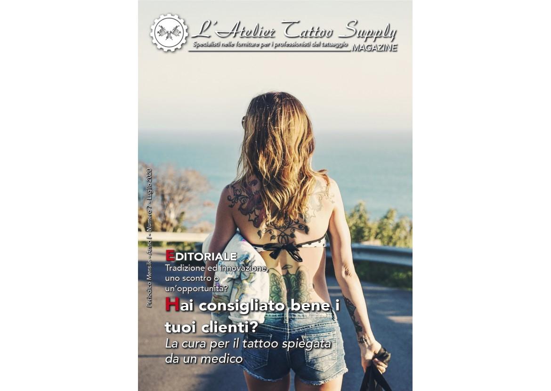 L'Atelier Tattoo Magazine N° 7 - Luglio 2020