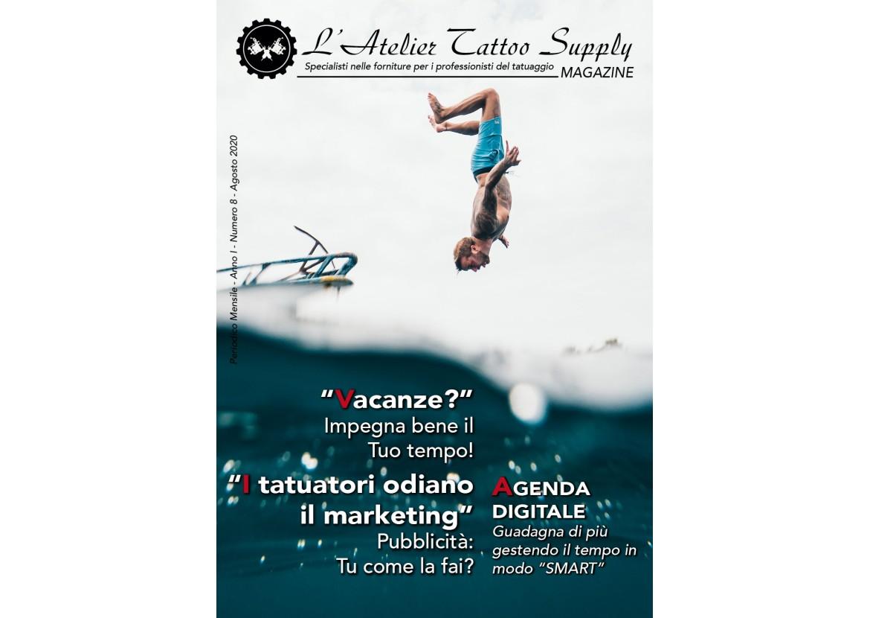 L'Atelier Tattoo Magazine N° 8 - Agosto 2020