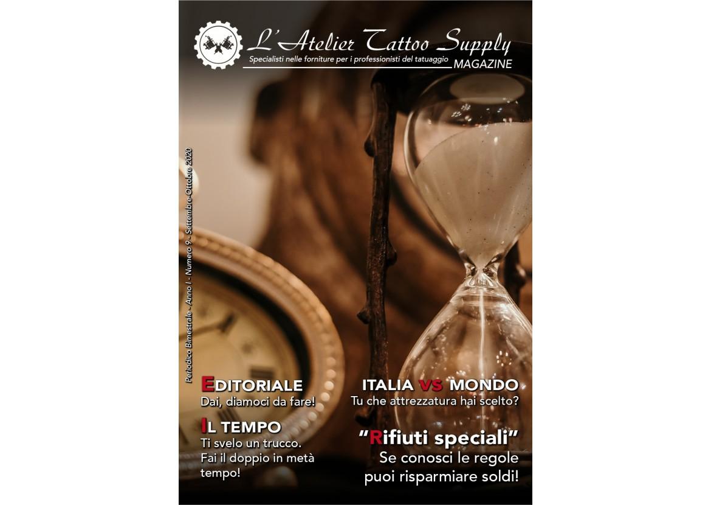 L'Atelier Tattoo Magazine N° 9 - Settembre/Ottobre 2020