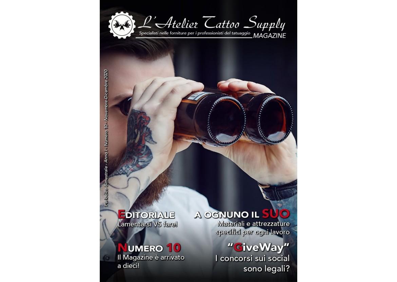 L'Atelier Tattoo Magazine N° 10 - Novembre/Dicembre 2020