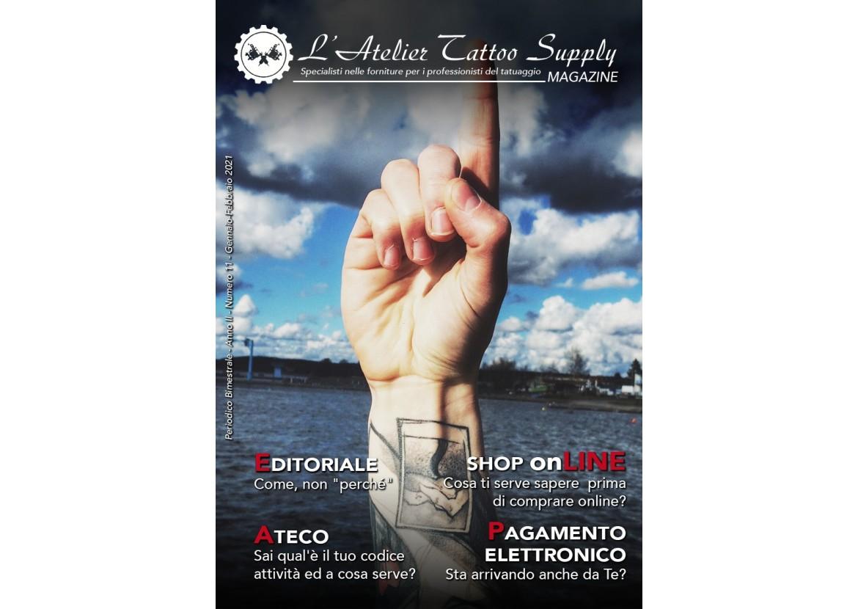 L'Atelier Tattoo Magazine N° 11 - Gennaio/Febbraio 2021