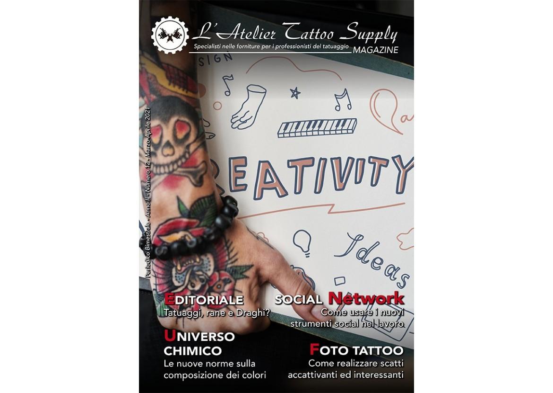 L'Atelier Tattoo Magazine N° 12 - Marzo/Aprile 2021