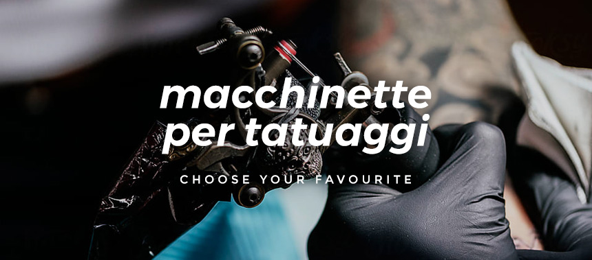 Atelier Tattoo Supply - macchinette per tatuaggi