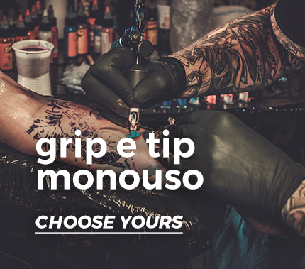 Atelier Tattoo Supply - grip e tip monouso