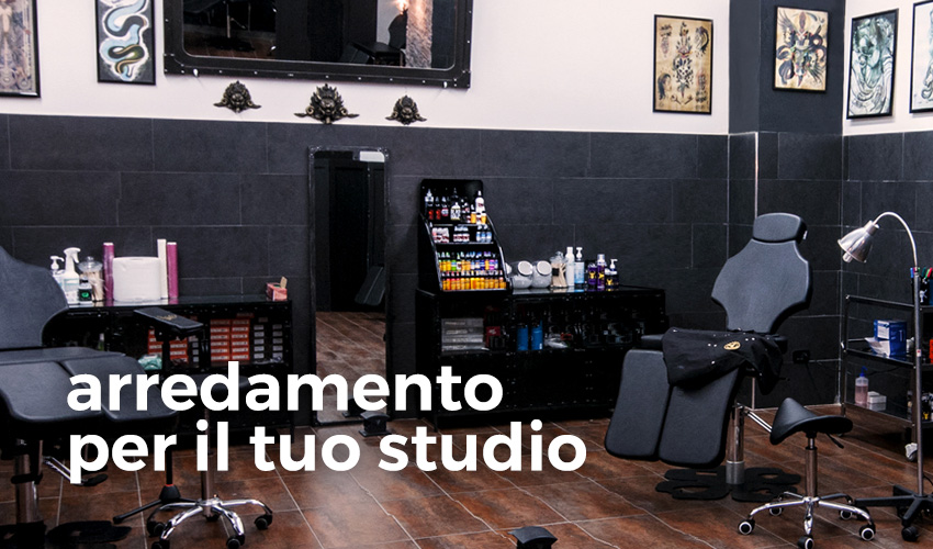 Atelier Tattoo Supply - arredamento per il tuo studio