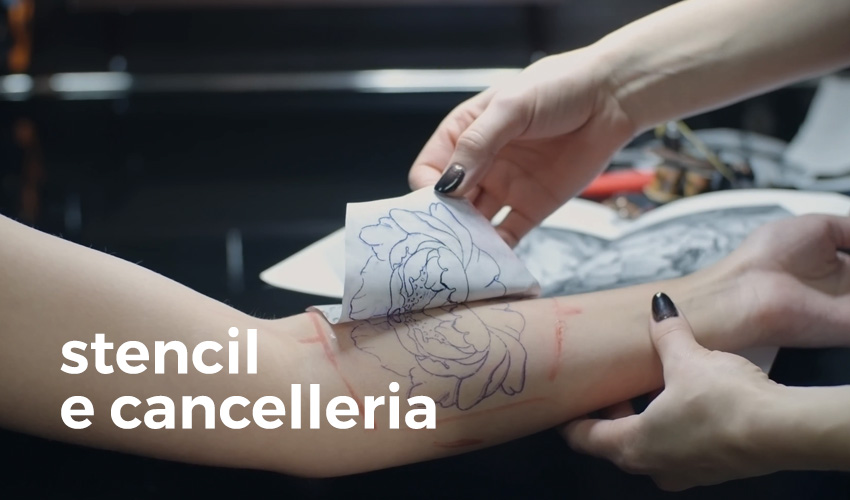 Atelier Tattoo Supply - stencil e cancelleria