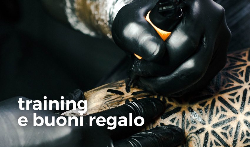 Atelier Tattoo Supply - training e buoni regalo
